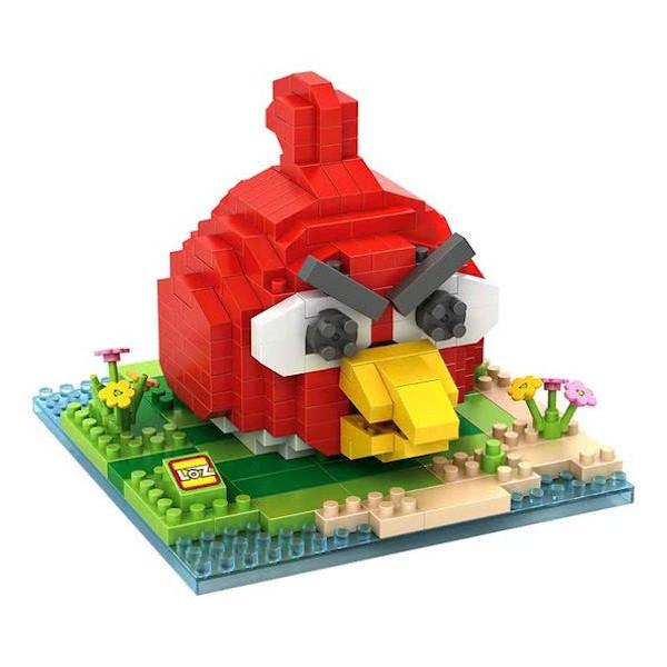 LOZ Angry Birds red bird Blocks 3D