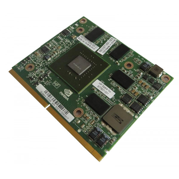 HP Video card nvidia Quadro 500M PCIe X16 1GB DDR3 memory 677907-001