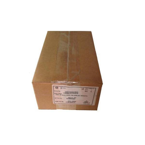 HP hard drive 750GB SATA 7200 RPM DC3 645114-001