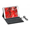 Gecko Covers gecko Hoes Met Keyboard iPad Air Zwart V10T27C1