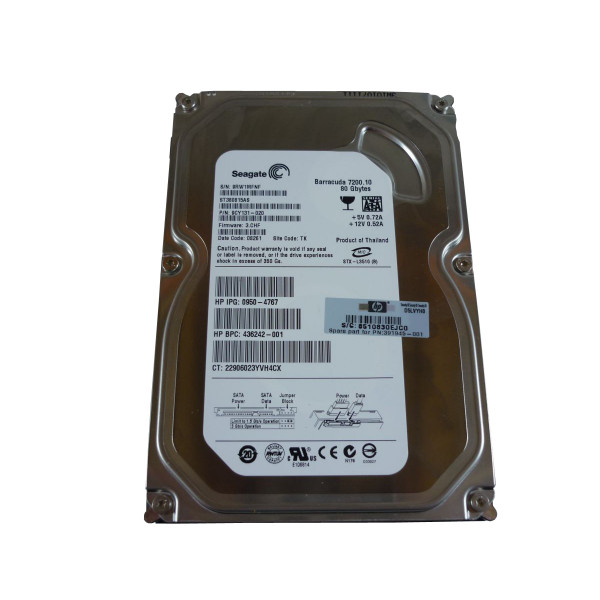 HP hard drive Barracuda 7200.10 80GB 391945-001