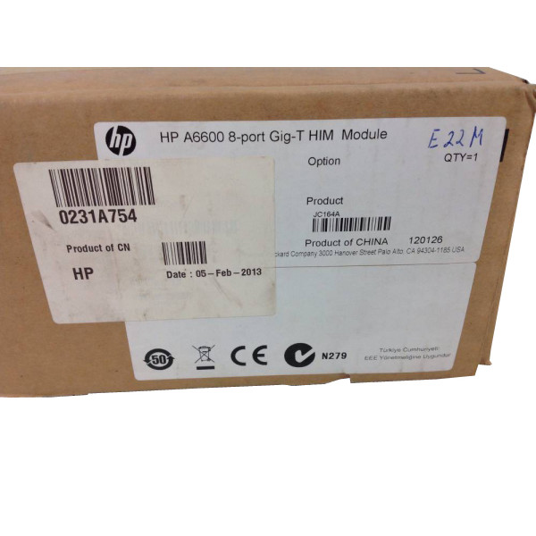 HP A6600 8-port GiG-T him module JC164A
