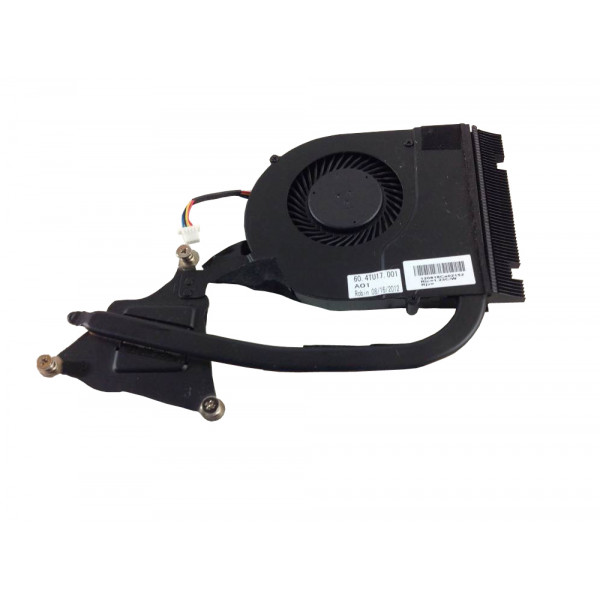 ACER Laptop CPU cooling fan and heatsink 60. 4TU17. 001