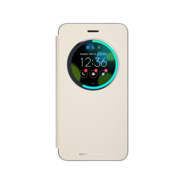 ASUS Smart phone Flip Cover for ZenFone 3 Laser ZC551KL Gold 90AC01M0-BCV005
