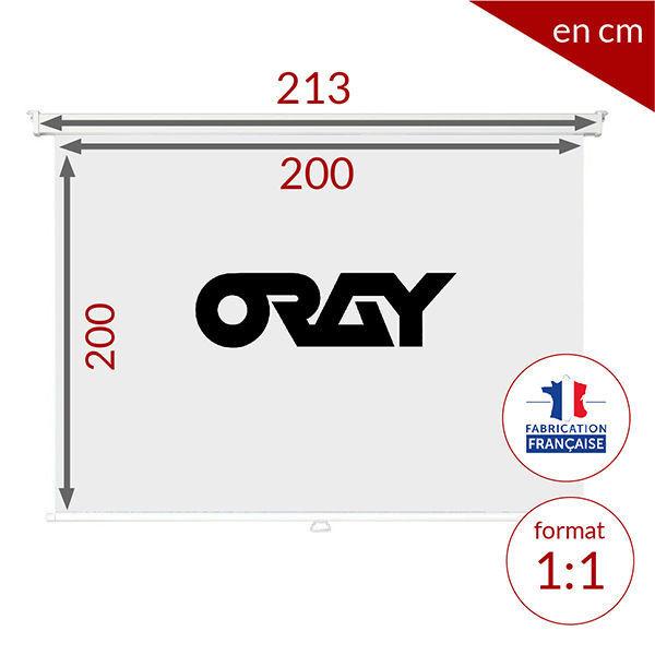 ORAY Screen Manual oray 2000PRO MPP03B1200200