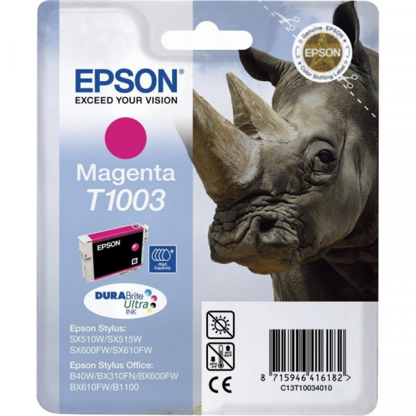 EPSON INK/T1003 Rhino 11.1ML MG C13T10034010