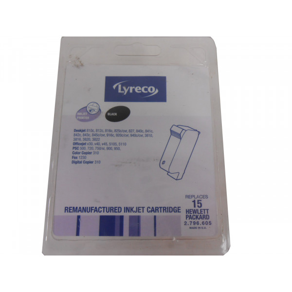Lyreco Cartridge for Deskjet 810C/812C 2.796.605