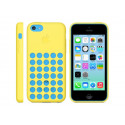 APPLE iPhone 5C case of silicone Yellow MF038ZM/A