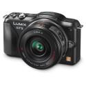 PANASONIC LumixG Camera 42mm F/3.5-5.6 Lens (Red) featuring 12.1MP DMC-GF5X