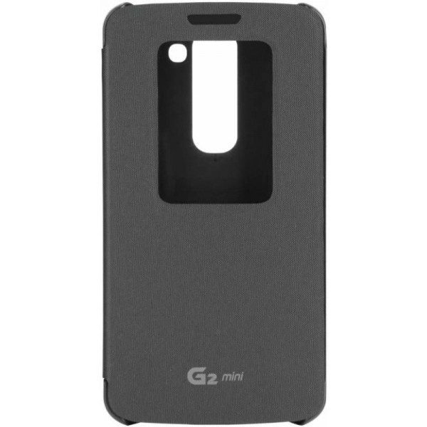 LG Flipcover Quick Window black for LG G2 Mini CCF-370
