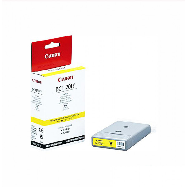 CANON Ink Cartridge BCI-1201 Yellow 7340A001