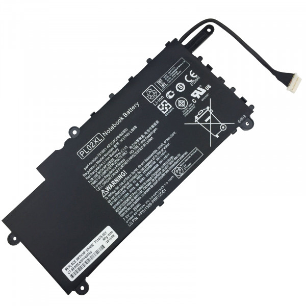 HP rechargeable li-ion battery pack PL02XL