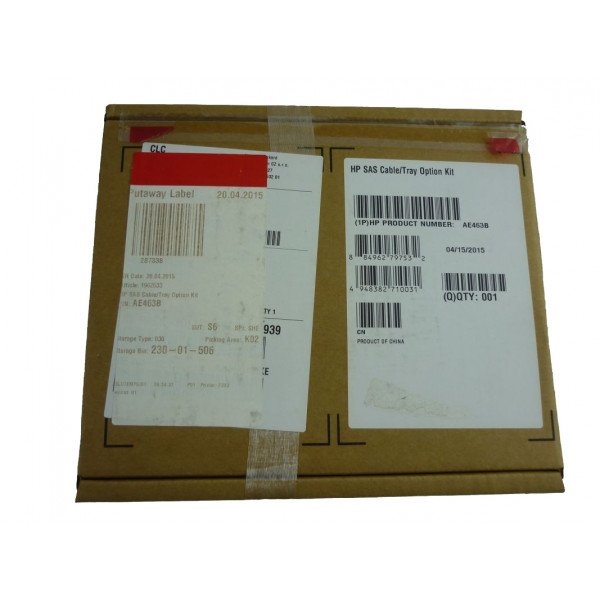 HP SAS Cable/Tray Option Kit AE463B