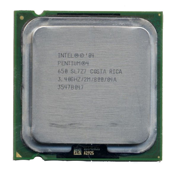 intel Pentium 4 Processor 650 supporting HT Technology SL7Z7