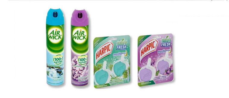 Air fresheners & Toilet blocks