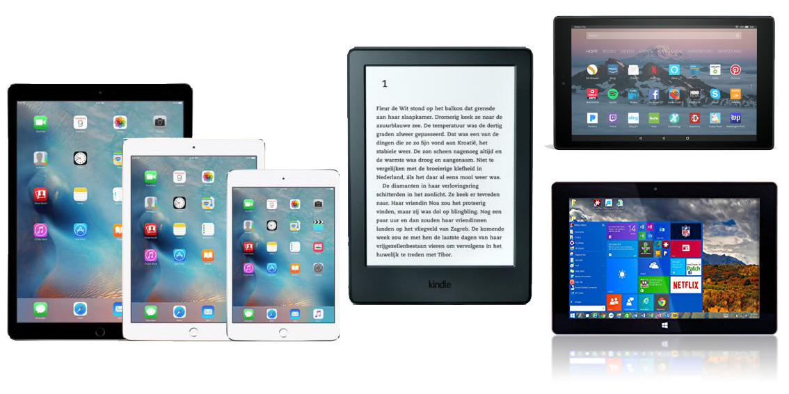 Tablets, iPads & E-Readers